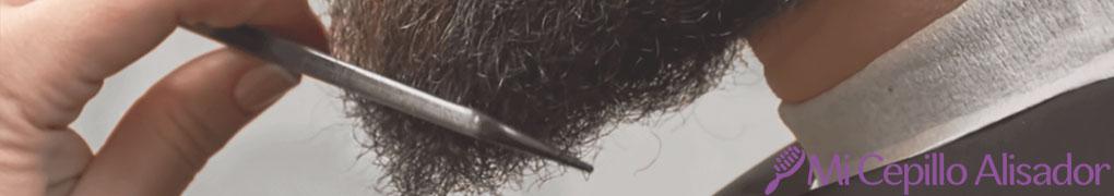 como alisar el pelo de la barba